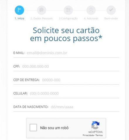 Solicitar cartão de crédito Porto Seguro